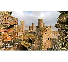 Conwy Castle Photographic Print