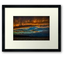 Sandy The Aftermath Framed Print