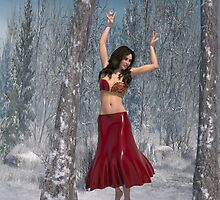 Bellydancer in the Woods by maltanetworkres