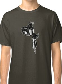 Tattoo Machine Gun Pop Art Classic T-Shirt