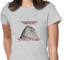 Reichenbach Helpline (US) Womens Fitted T-Shirt