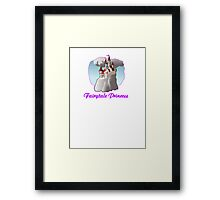 fairy tale princess magical castle fairytale  Framed Print