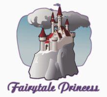 fairy tale princess magical castle fairytale  Kids Tee
