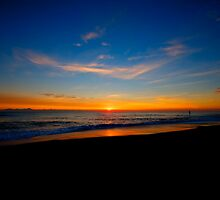 Sunrise on the North Norfolk Coast by seadrift
