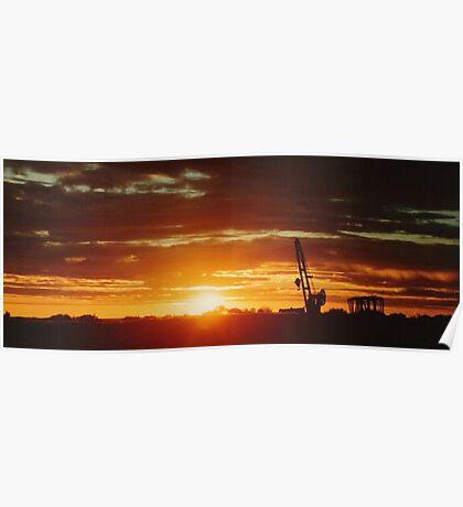 Laverton Sunrise 2 Poster