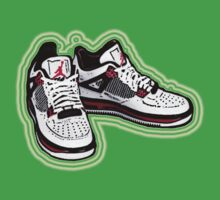 BANNED KICKS: JORDAN AIR ONES Kids Clothes