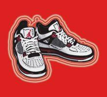 BANNED KICKS: JORDAN AIR ONES Kids Clothes