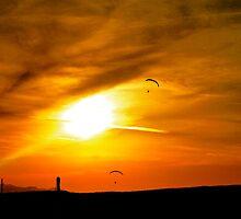 Paraglider's in Arizona by ADayToRemember