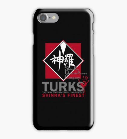 Turks (Final Fantasy VII - ShinRa's Finest) [Dark Version] iPhone Case/Skin