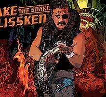 Jake The Snake Plissken by devildrexl