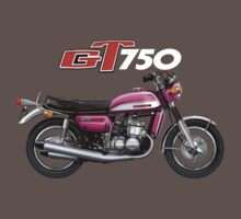 Suzuki GT750 by Tony  Newland