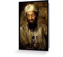 Team Limbaugh: Osama Bin Ladin Greeting Card