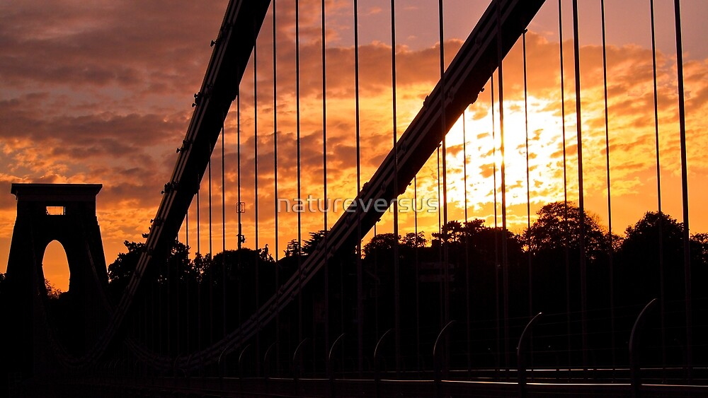 Suspended Sunset by Deb Maidment