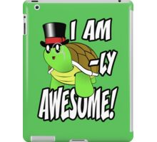 I Am Turtle-Ly Awesome! iPad Case/Skin