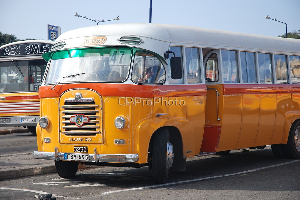 Malta Bus by CPProPhoto