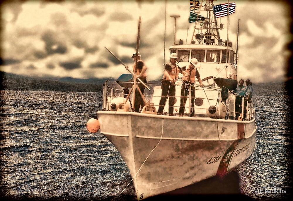 Coast Guard Vessel by vanceadkins