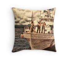 Coast Guard Vessel Throw Pillow