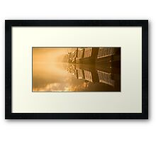 Touching the Dawn Framed Print