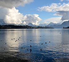 Lake Lucerne by Daidalos