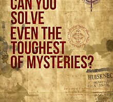 Can you Solve Even The Toughest of Mysteries? by glacierwaves
