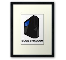 Blue shadow PC Framed Print