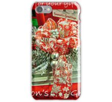 Holiday Card - Thank You For Your Friendship iPhone Case/Skin