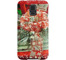Holiday Card - Thank You For Your Friendship Samsung Galaxy Case/Skin