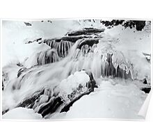 Winter Snow Melt Poster