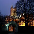 View From The Garden - Canterbury Cathedral by rsangsterkelly