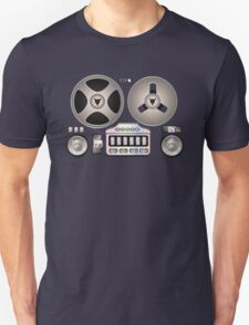 Tape Recorder Retro Magnetophon  Unisex T-Shirt