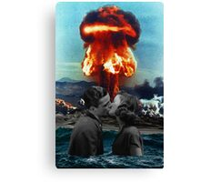 Love Explosion Canvas Print