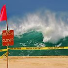 Beach Closed by Paul Laubach