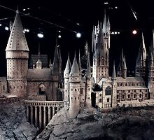 Hogwarts Model by AlfieTobutt