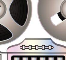 Tape Recorder Retro Magnetophon  Sticker