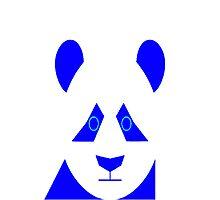 AnimalKingdom - Blue Panda Photographic Print
