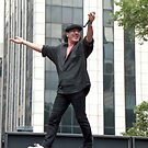 Brian Johnson AC/DC  by Jonathan  Green