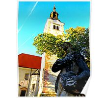 Pilgrimage Church, Lake Bled, Slovenia Poster