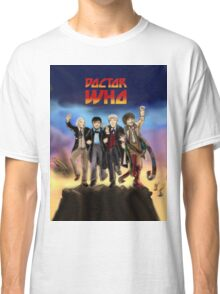 'Doctor Who meets KISS' Version 1 Classic T-Shirt