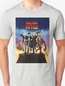 'Doctor Who meets KISS' Version 1 Unisex T-Shirt