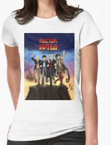 'Doctor Who meets KISS' Version 1 Womens Fitted T-Shirt