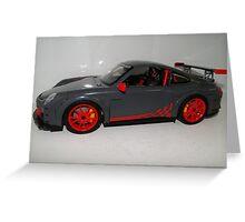 LEGO Car by MegaBloks Body Greeting Card