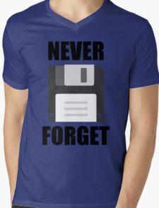 Never Forget Mens V-Neck T-Shirt