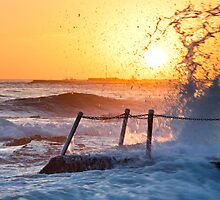Summer Sun - Newport Beach NSW by Andrew Kerr