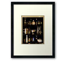 Kitchen Cabinet Framed Print