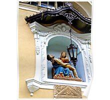 Pieta, Saint Nicholas' Cathedral, Ljubljana, Slovenia Poster