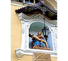 Pieta, Saint Nicholas' Cathedral, Ljubljana, Slovenia Photographic Print