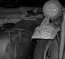 War bike and side car by Matt Hill