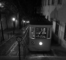 Tram in Lisbon by Pawel J