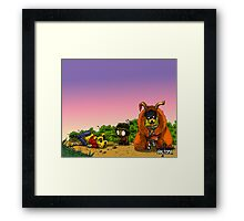 Bear Massacre Framed Print