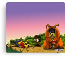 Bear Massacre Canvas Print
